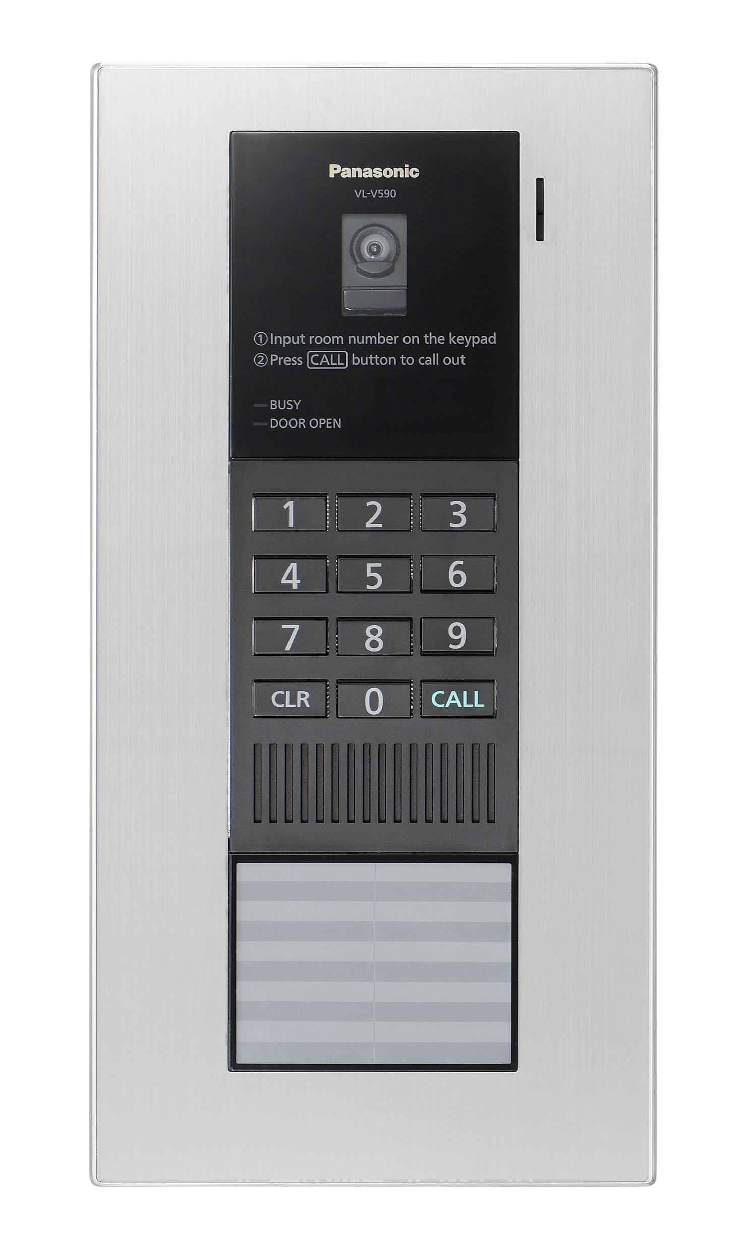 Door Intercom With Lock Release
