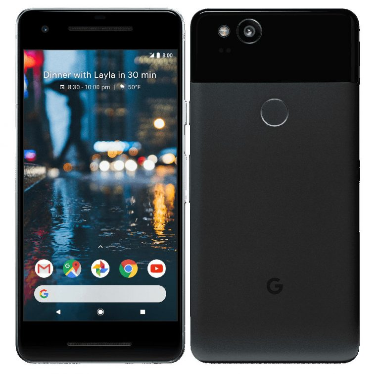 Google Pixel 2 and Pixel 2 XL Availability and Pricing