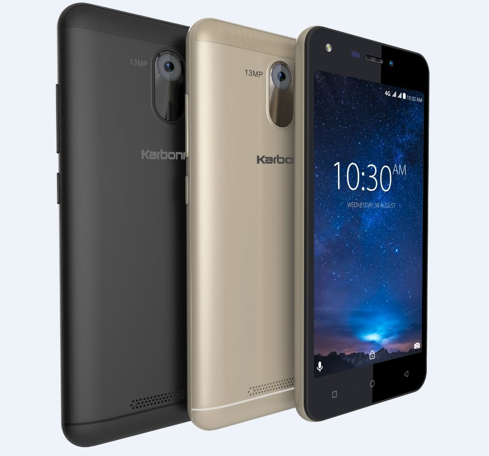 Karbonn Titanium Jumbo With 4000 mAh Battery Launched In India At ₹6490