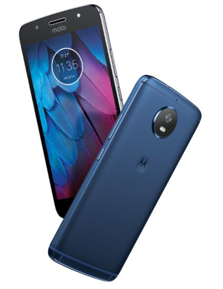 Moto G5S now available in Blue