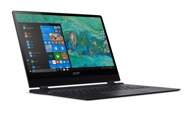 Acer just unveiled the thinnest laptop in the world