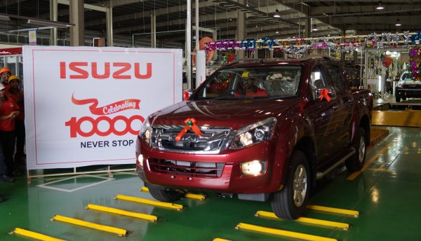 Isuzu Motors Rolls Out 10,000th Vehicle From Its Plant In Andhra Pradesh • Techvorm