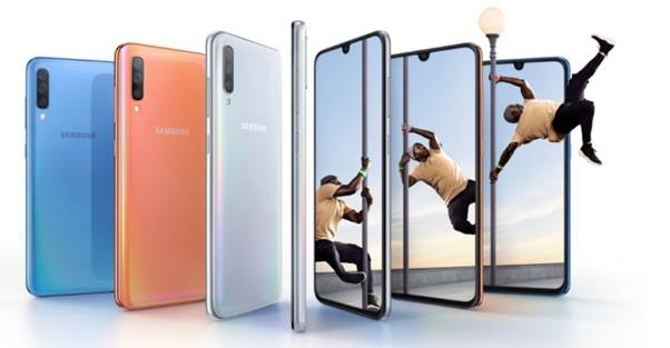 Samsung Galaxy A70 Goes Official with 6.7