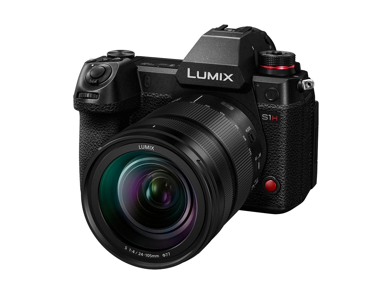 Panasonic Launches Lumix S1h World S First 6k Digital
