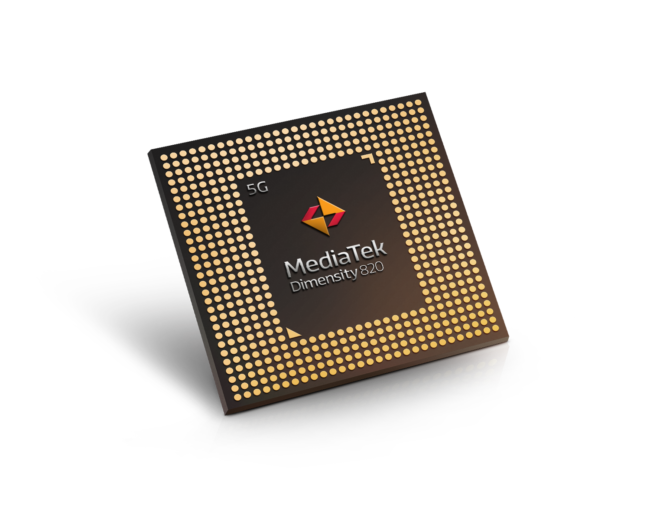 MediaTek launches Dimensity 820 chip for smartphones - CRN""